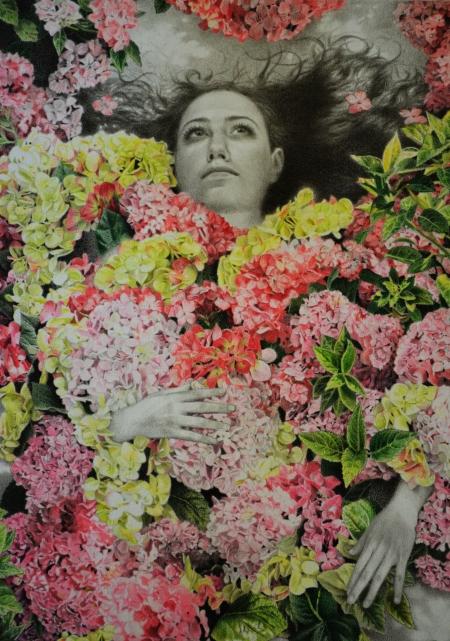 emily in flowers 2
